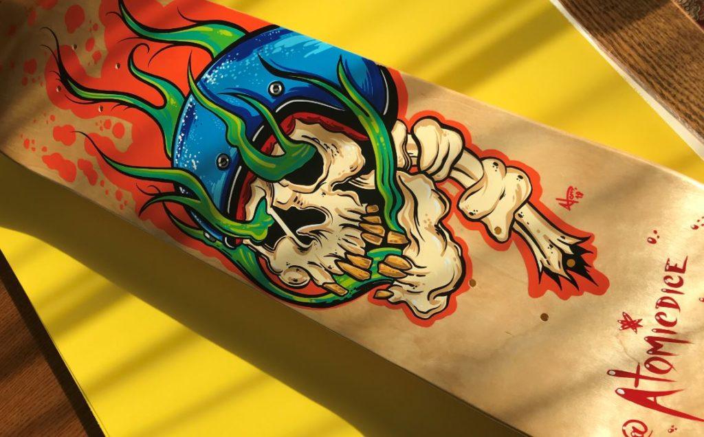 Meet the 2020 Flying Piston Skateboard Artists