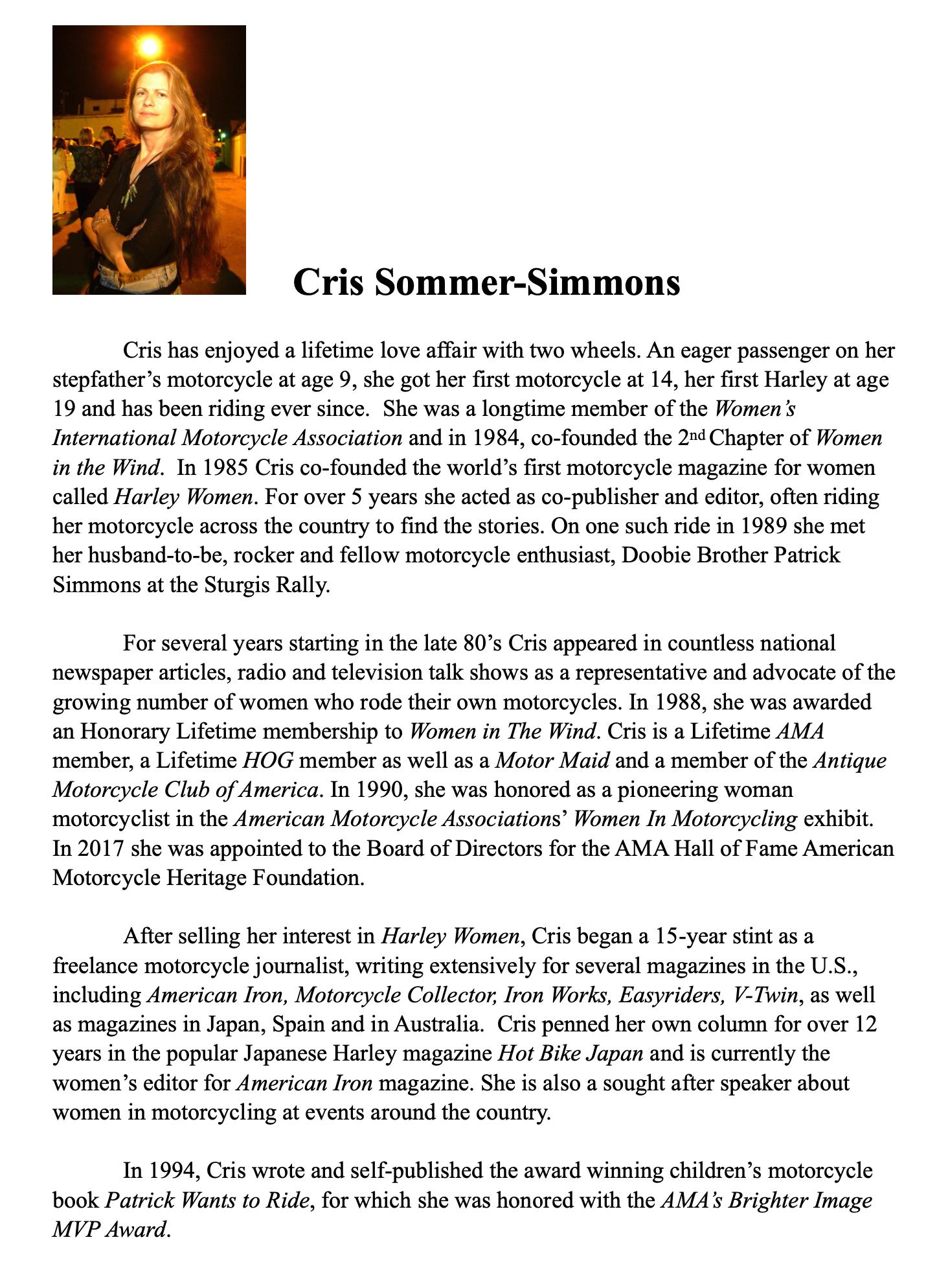 2020 Flying Piston Strider Builder: Cris Simmons