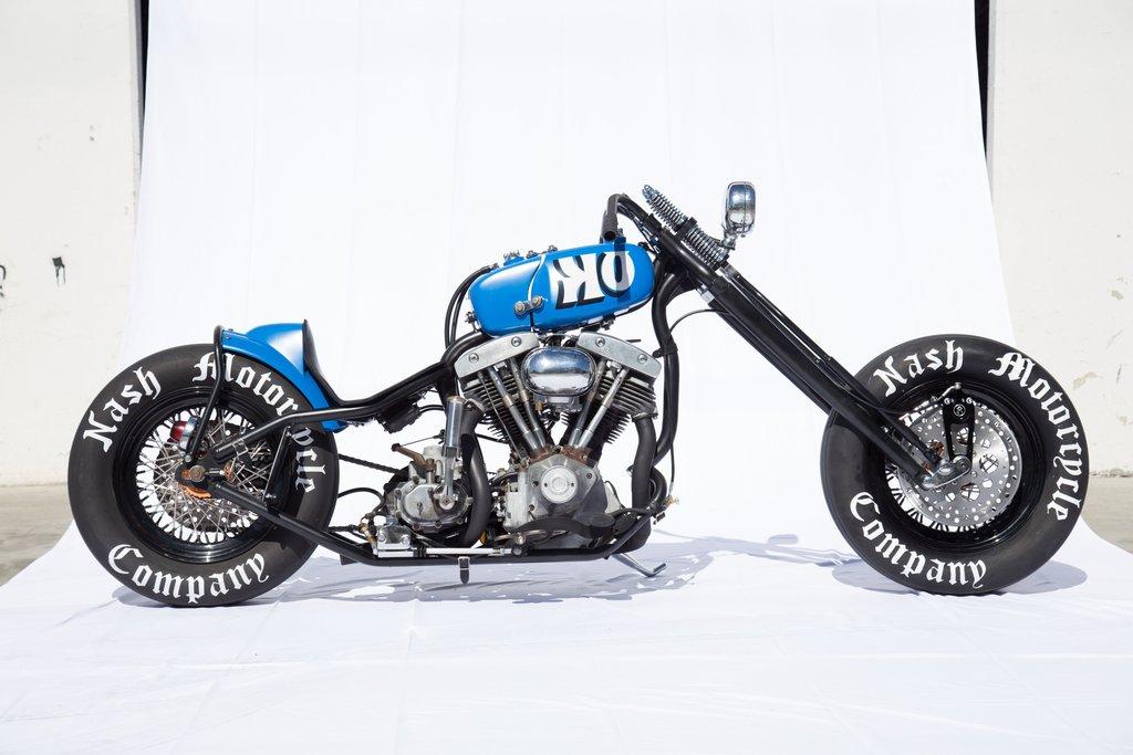 Meet IRONe Builder Tabor Nash Bike